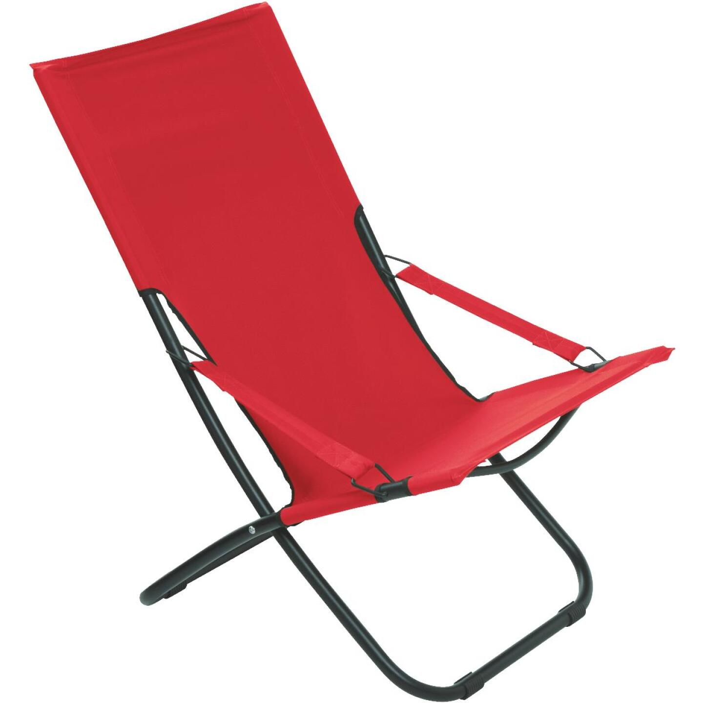 Pride Family Brands Folding Hammock Chair, Red Image 1