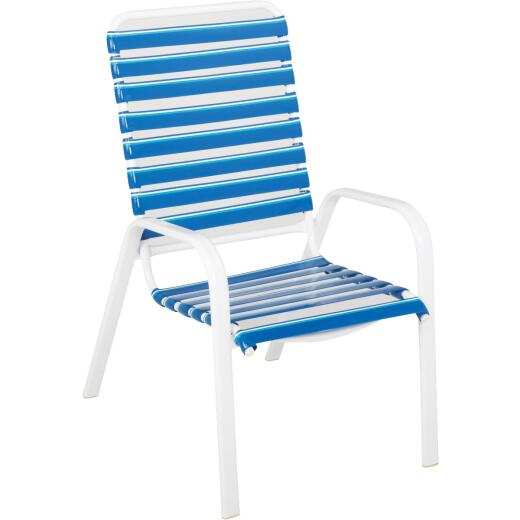 Do it Best White Aluminum Stackable Chair