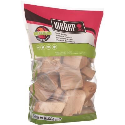 Weber FireSpice 4 Lb. Apple Smoking Chunks
