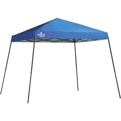 Quick Shade Shade Tech 10 Ft. X 10 Ft. Blue Aluminex Fabric Canopy