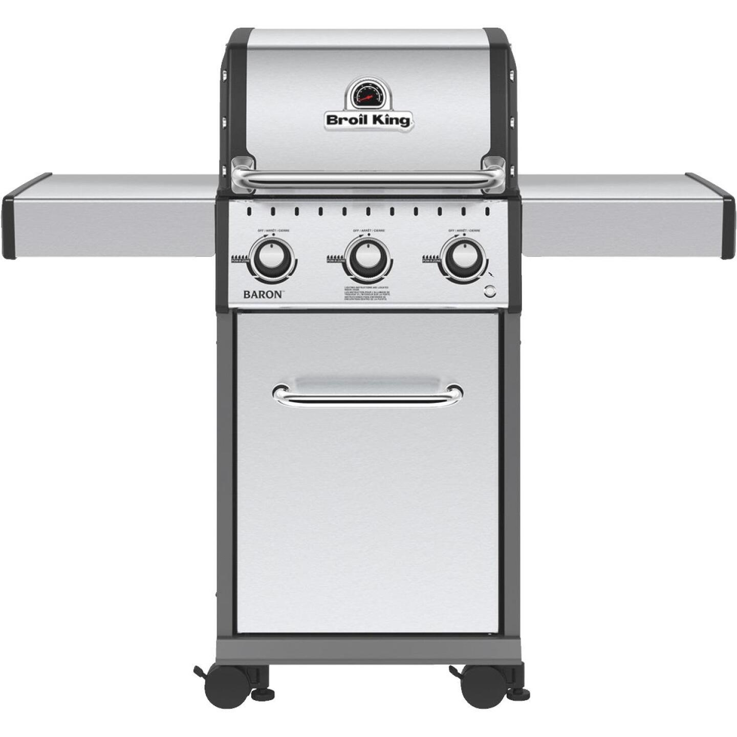 Broil King Baron S320 3-Burner Stainless Steel 30,000-BTU LP Gas Grill Image 1