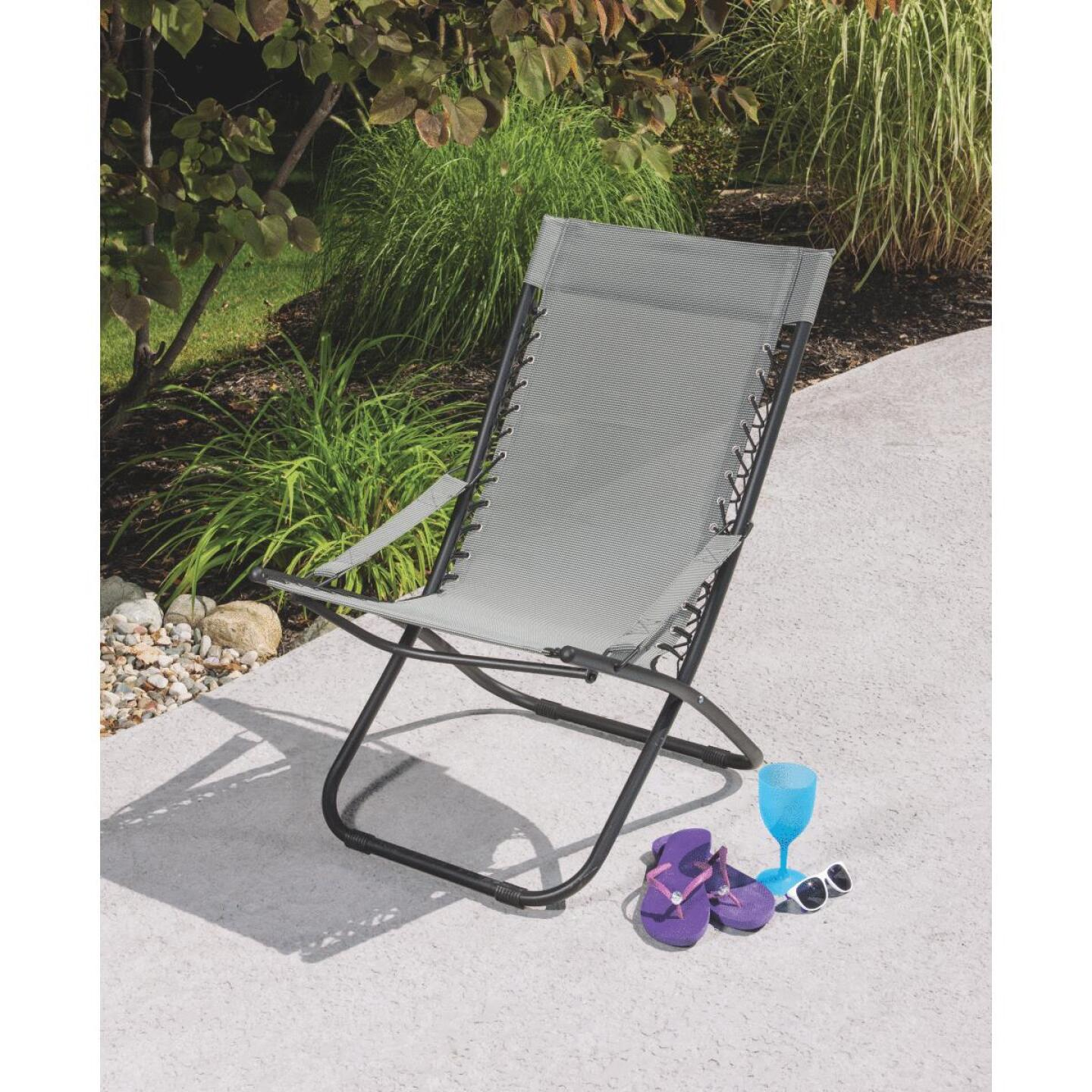 Outdoor Expressions Seville Gray Hammock Chair Image 4