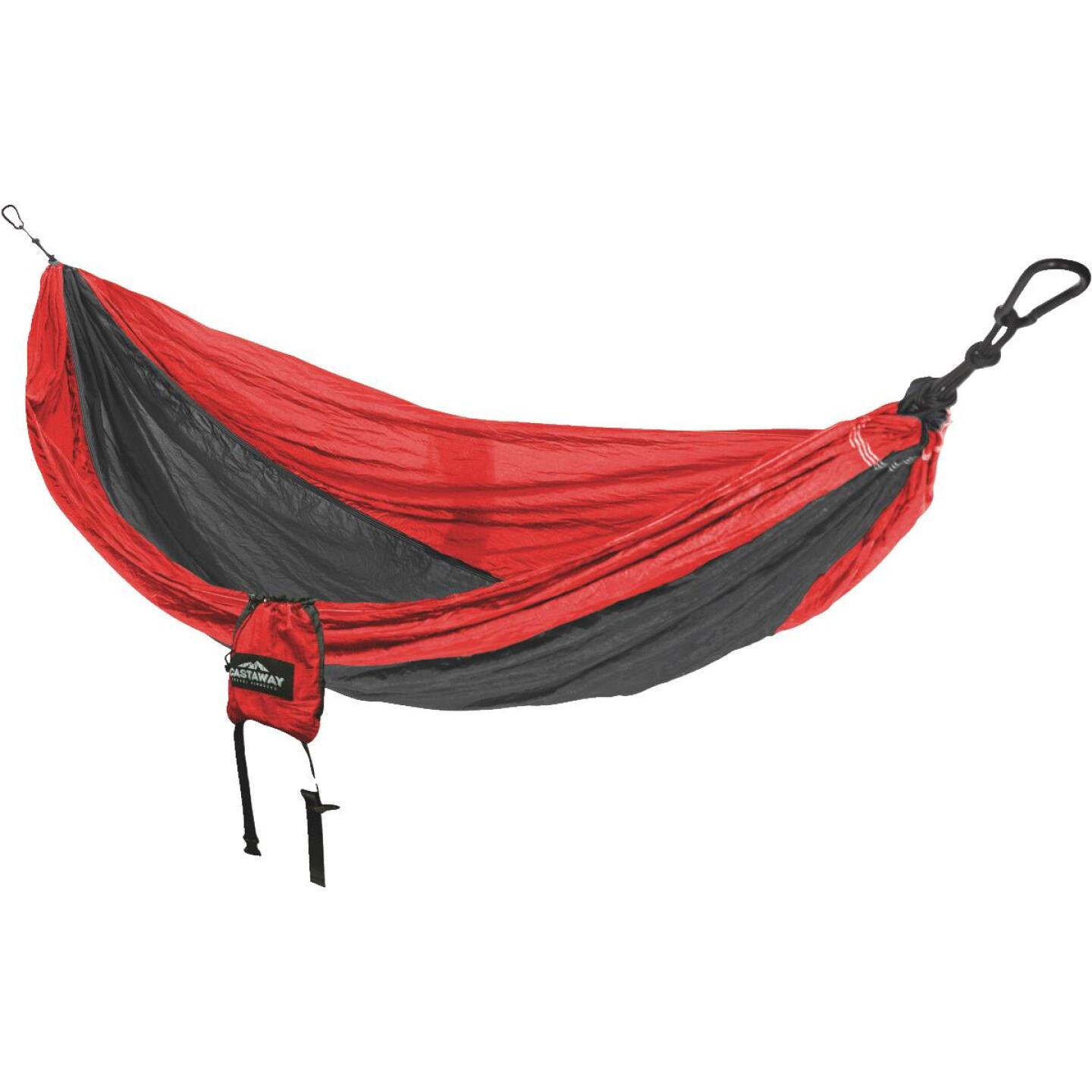 Castaway All-In-One Nylon Red Travel Hammock Image 3