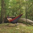Castaway All-In-One Nylon Red Travel Hammock Image 4