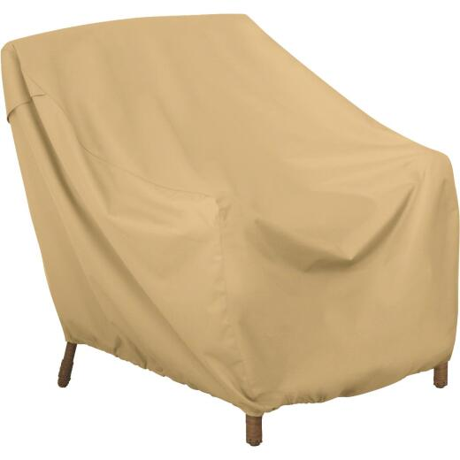 Classic Accessories 35 In. W. x 30 In. H. x 36 In. L. Tan Polyester/PVC Chair Cover