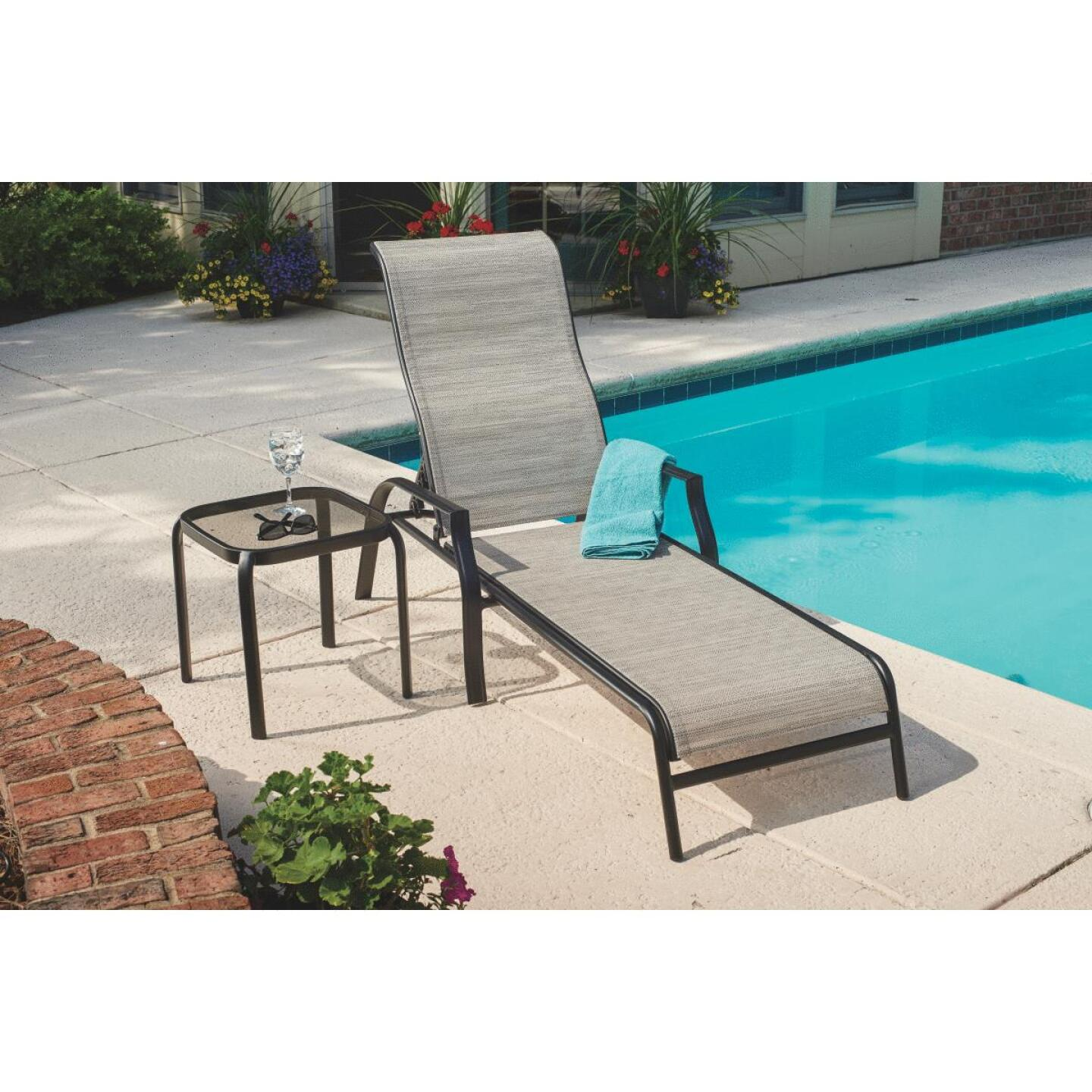 Outdoor Expressions Galveston Chaise Lounge Image 5