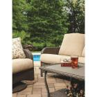 Pacific Casual Tiara Garden 2-Person Love Seat with Coffee Table Image 16