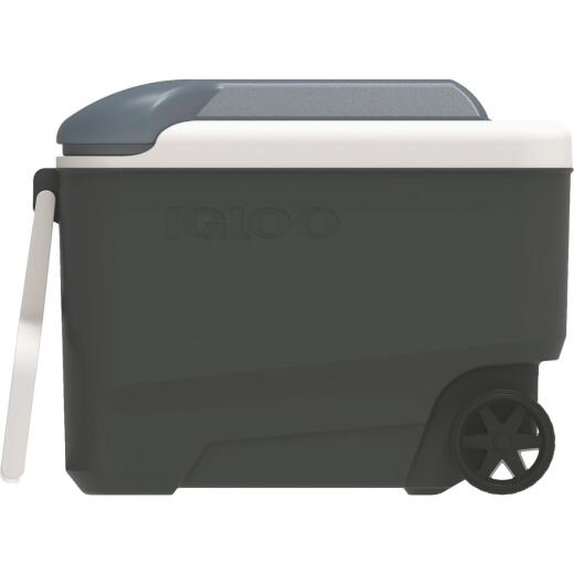 Igloo Maxcold 40 Qt. Roller Cooler, Ice Blue