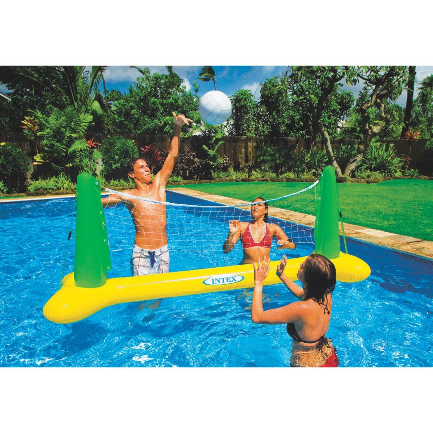 Intex 2 or More Players Inflatable Pool Volleyball Game Image 1