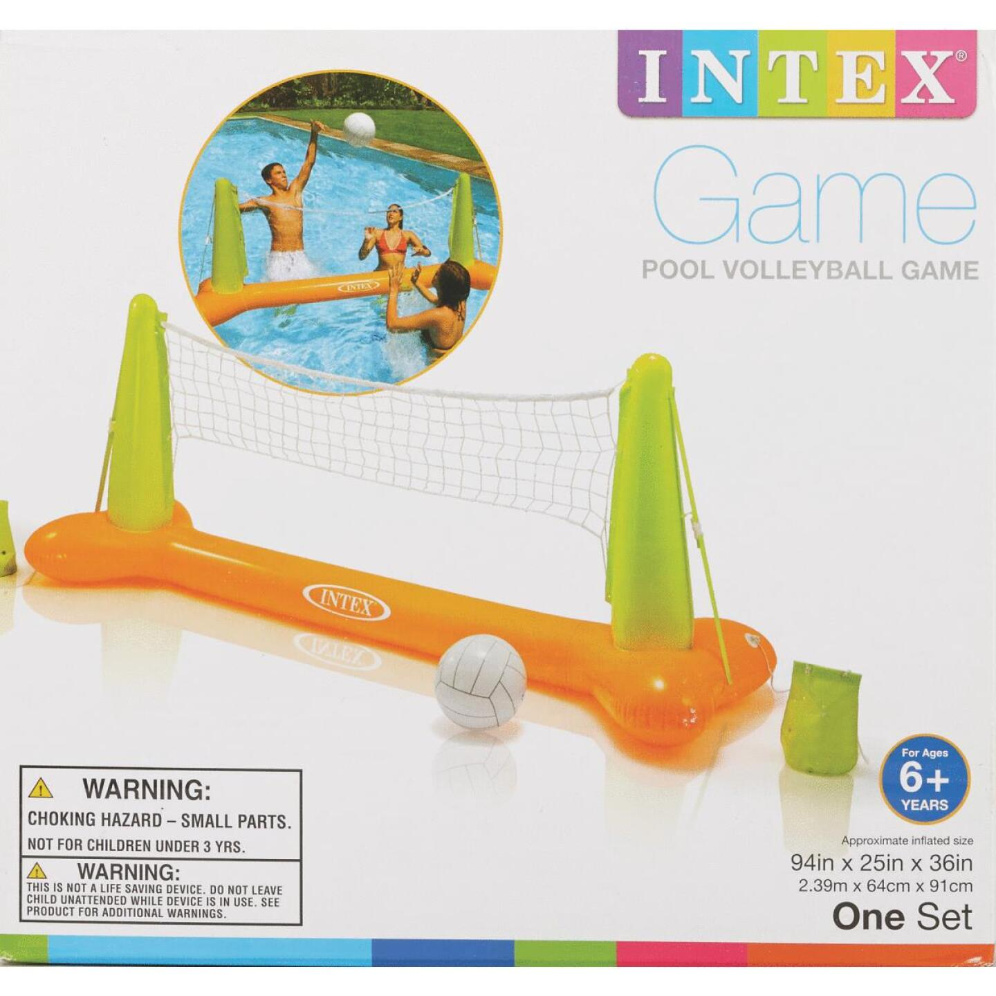 Intex 2 or More Players Inflatable Pool Volleyball Game Image 3