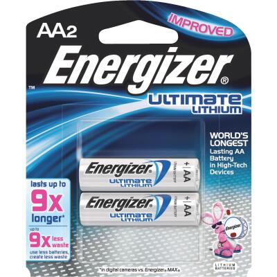 Energizer AA Ultimate Lithium Battery (2-Pack)