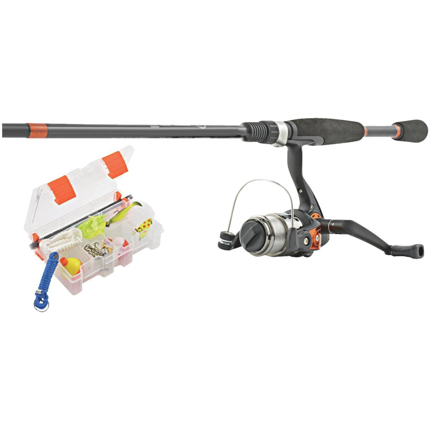 SouthBend Ready 2 Fish All Species 5 Ft. Fiberglass Fishing Rod & Spinning Reel Combo Image 1
