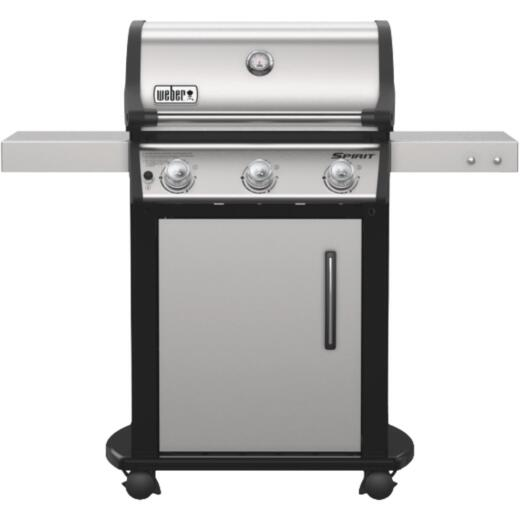 Weber Spirit S-315 3-Burner Stainless Steel 32,000 BTU LP Gas Grill