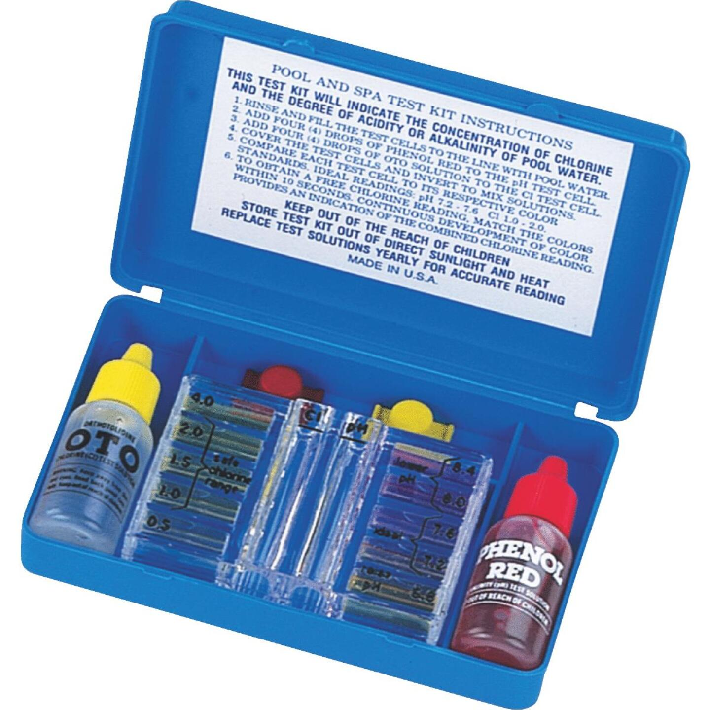 JED Pool and Spa Test Kit Image 1