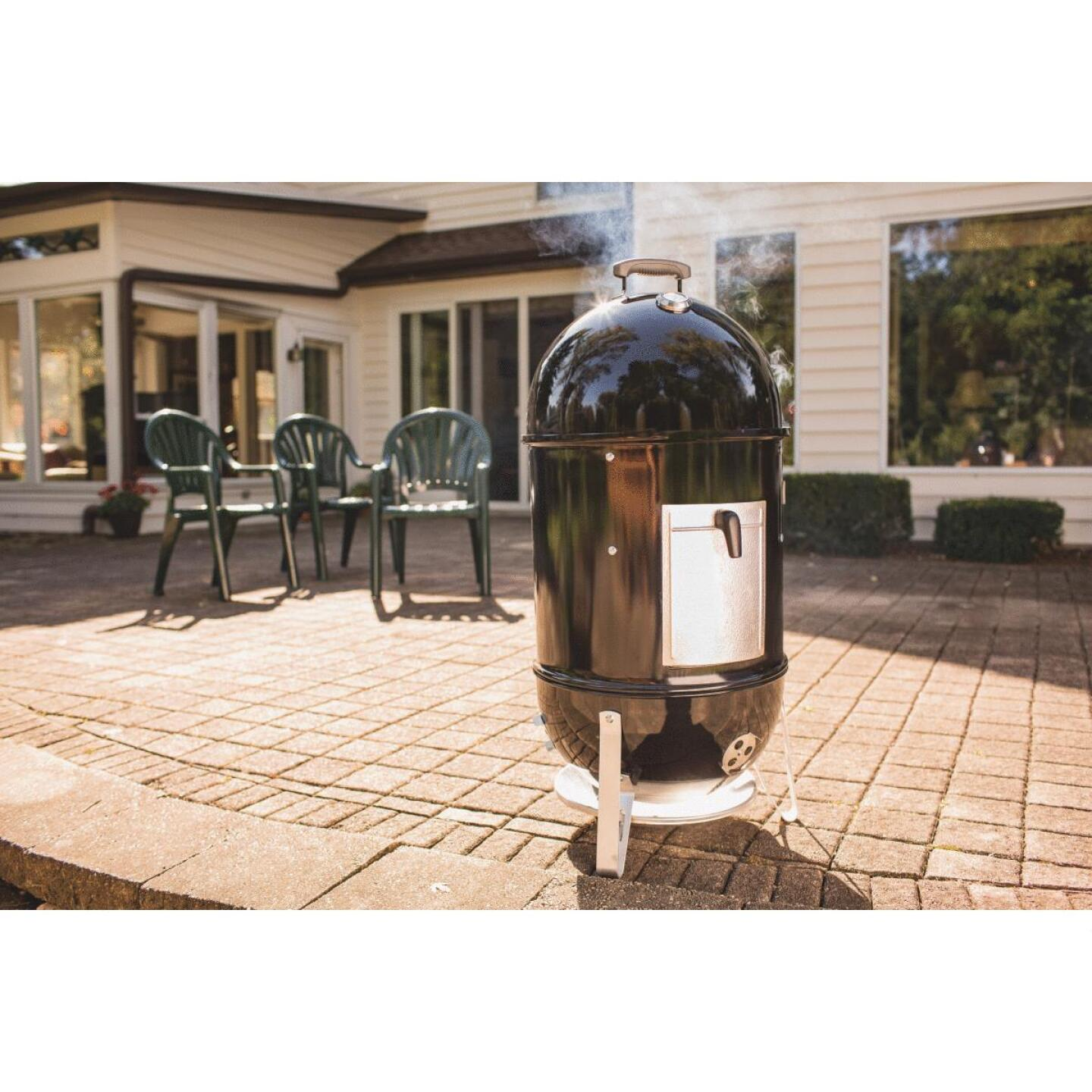 Weber Smokey Mountain Cooker 18 In. Dia. 481 Sq. In. Vertical Charcoal Smoker Image 7