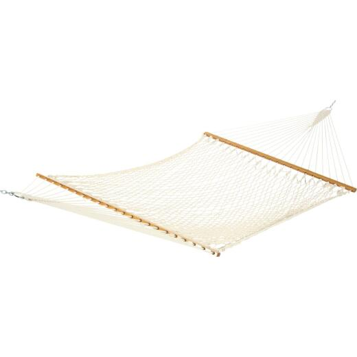 Castaway Deluxe Duracord White Poly Rope Hammock