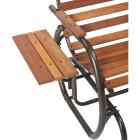 Jack Post Country Garden Bronze Hi-Back Glider with Tray Image 2