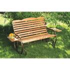 Jack Post Country Garden Bronze Hi-Back Glider with Tray Image 4