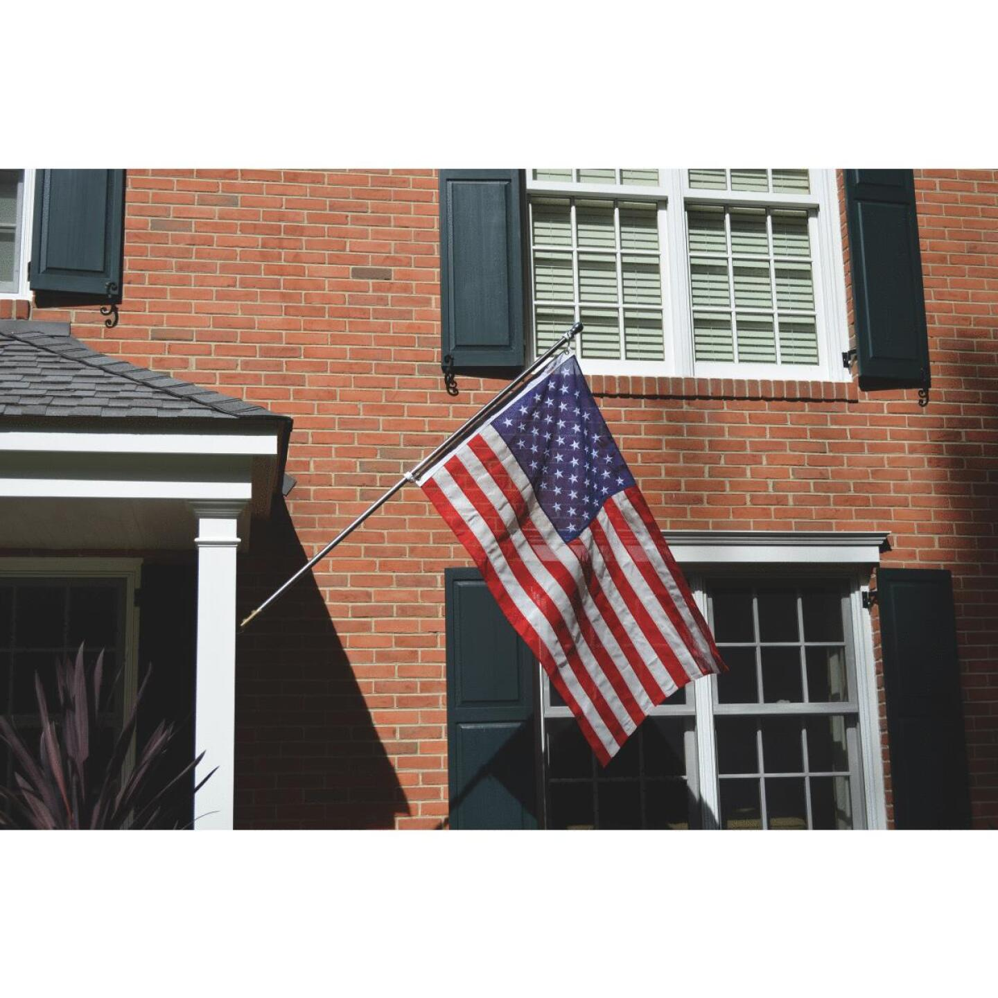 Valley Forge 3 Ft. x 5 Ft. Cotton Natural Series American Flag Image 2