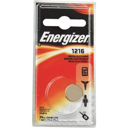 Energizer 1216 Lithium Coin Cell Battery