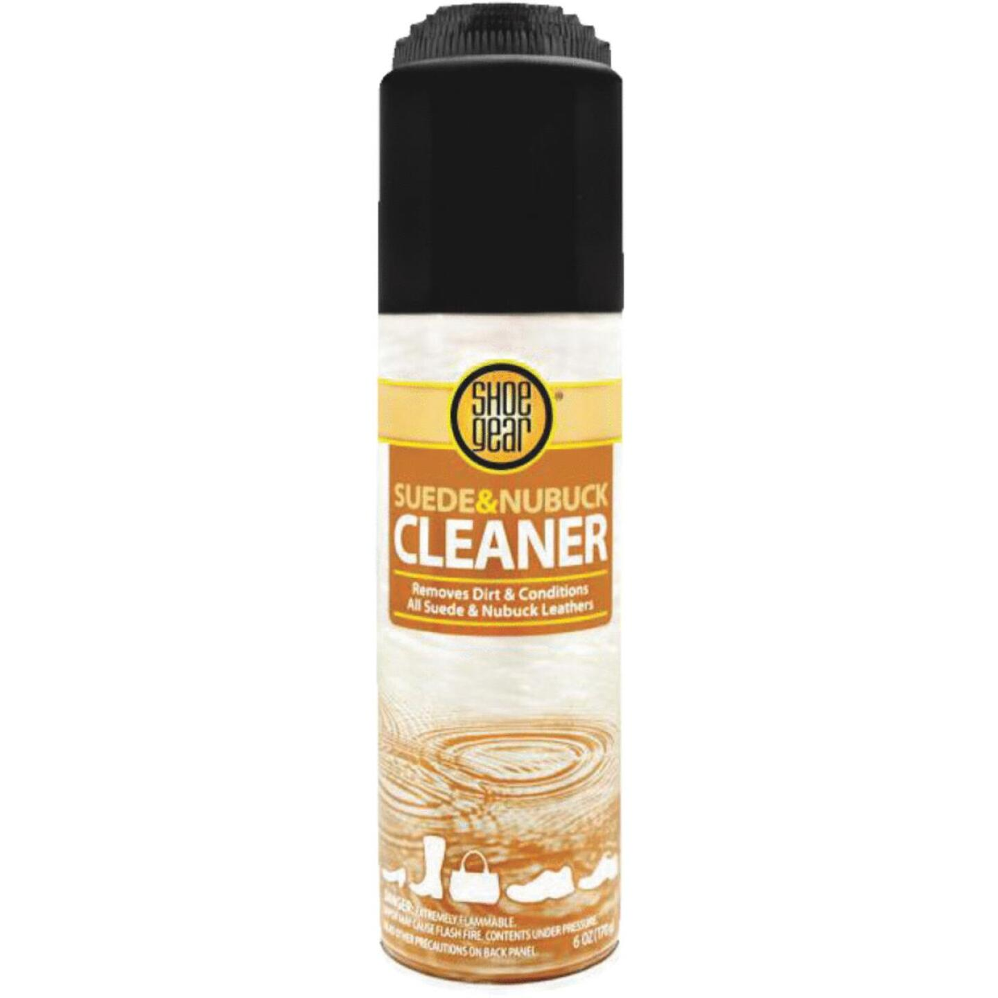 Shoe Gear 5.5 Oz. Aerosol Spray Suede & Nubuck Cleaner Leather Care Image 1