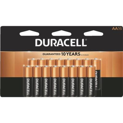 Duracell CopperTop AA Alkaline Battery (16-Pack)