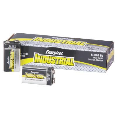 Energizer Industrial 9V Alkaline Battery