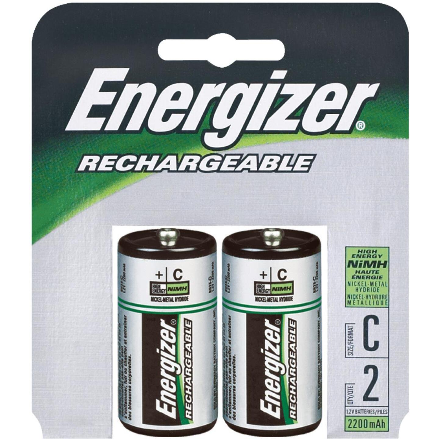 Energizer Recharge C NiMH Rechargeable Battery (2-Pack) Image 1