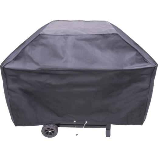 Char-Broil 62 In. Black Vinyl Basic Grill Cover