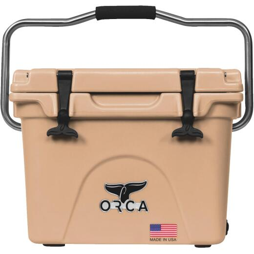 Orca 20 Qt. 18-Can Cooler, Tan