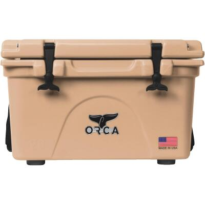 Orca 26 Qt. 24-Can Cooler, Tan