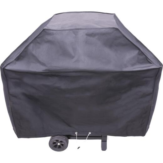 Char-Broil 52 In. Black Vinyl Basic Grill Cover