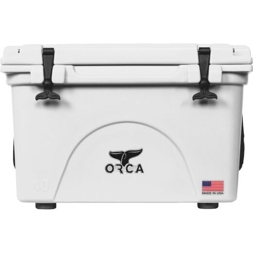 Orca 40 Qt. 48-Can Cooler, White