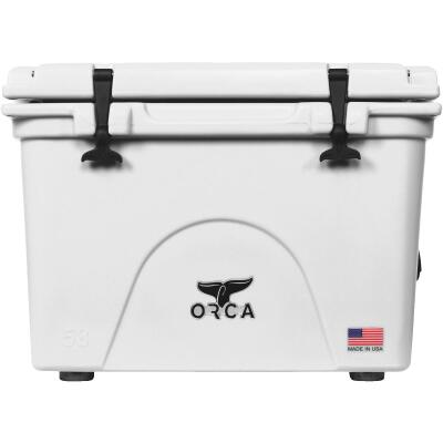 Orca 58 Qt. 72-Can Cooler, White