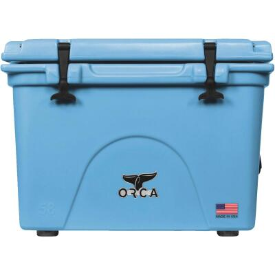 Orca 58 Qt. 72-Can Cooler, Light Blue