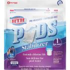 HTH 8 Oz. Pre-Measured Water Soluble Stabilizer Pods Image 1
