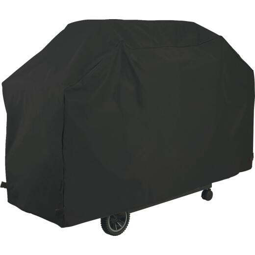 GrillPro 65 In. Black PVC Deluxe Grill Cover