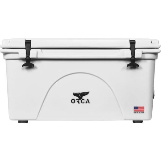 Orca 75 Qt. 90-Can Cooler, White