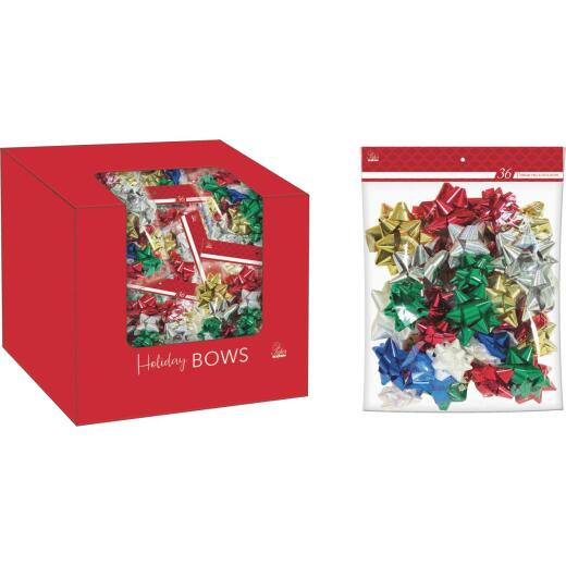 Paper Images Assorted Size Premium Gift Bow (36-Pack)