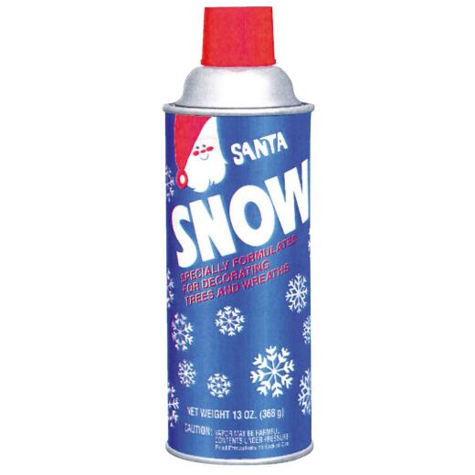 Santa 13 Oz. Aersol Spray Snow Spray Flocking