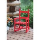 Knollwood Red Wood Child Rocking Chair Image 4