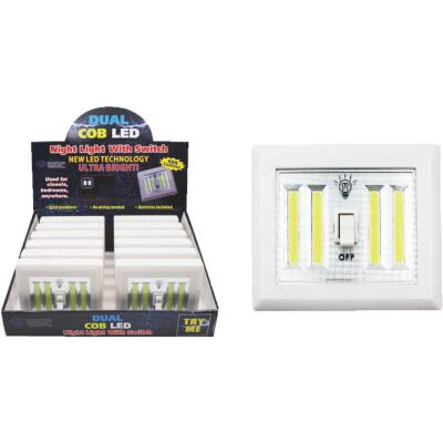Diamond Visions Dual COB LED Night Light Switch