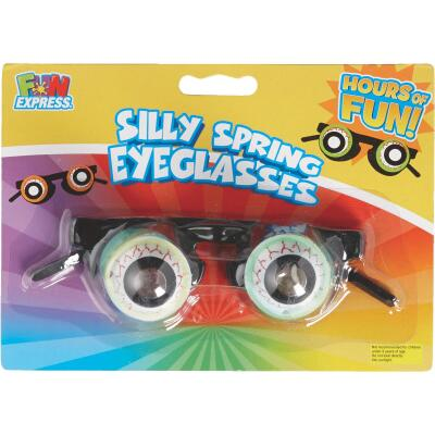 Fun Express Silly Spring Eyeglasses