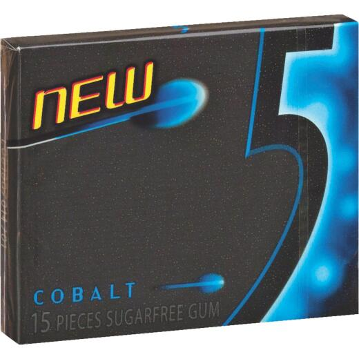 5 Cobalt Peppermint Gum (15-Piece)