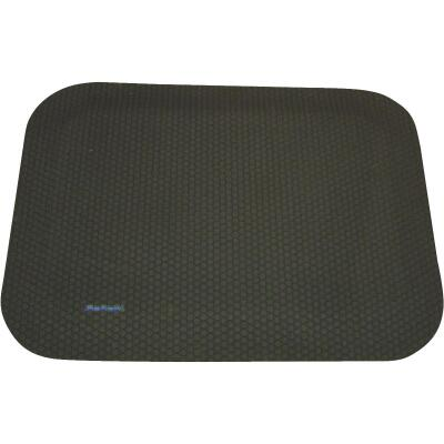 Logo Mats 33 In. x 33 In. Black Anti-Fatigue Mat